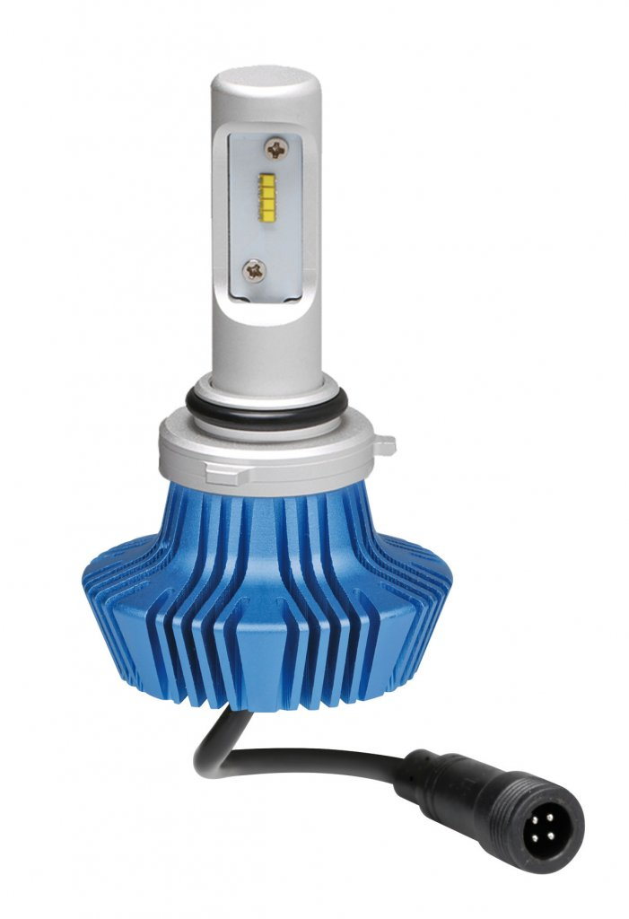 10-30V Halo Led - (HB4 9006) - 25W - P22d - 1 pz  - D/Blister