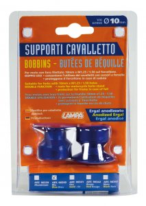 Kit supporti cavalletto - 10 mm - Blu